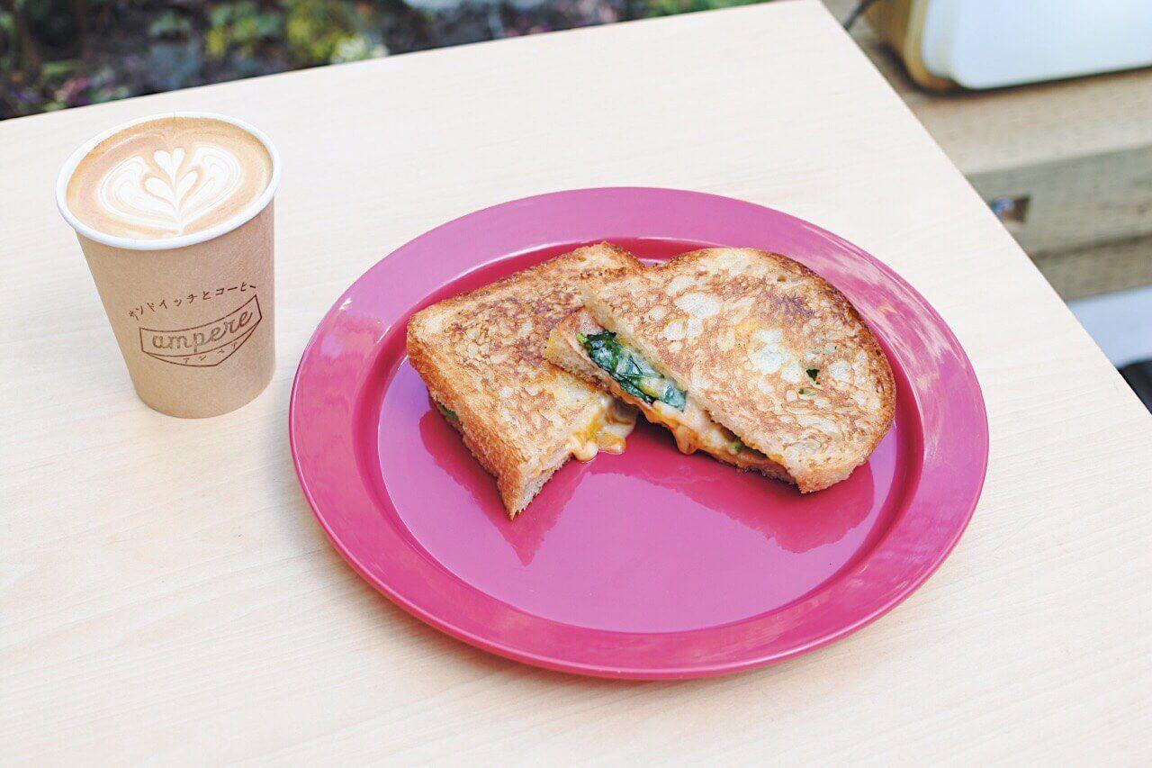 【渋谷】「ampere」のサンドイッチとコーヒーで毎日をちょっと豊かに
