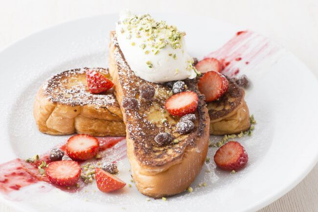 Breakfast in Tokyo:Delicious OGURA French Toast!