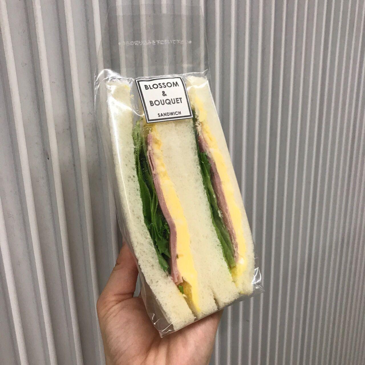 BLOSSOM & BOUQUETのサンドイッチ