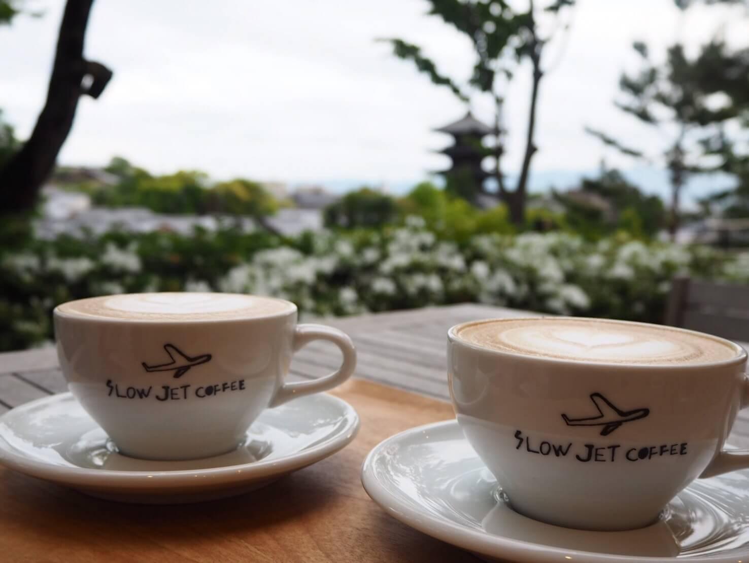 八坂の塔がすぐそこに!京都市内を見渡せる絶景カフェ。