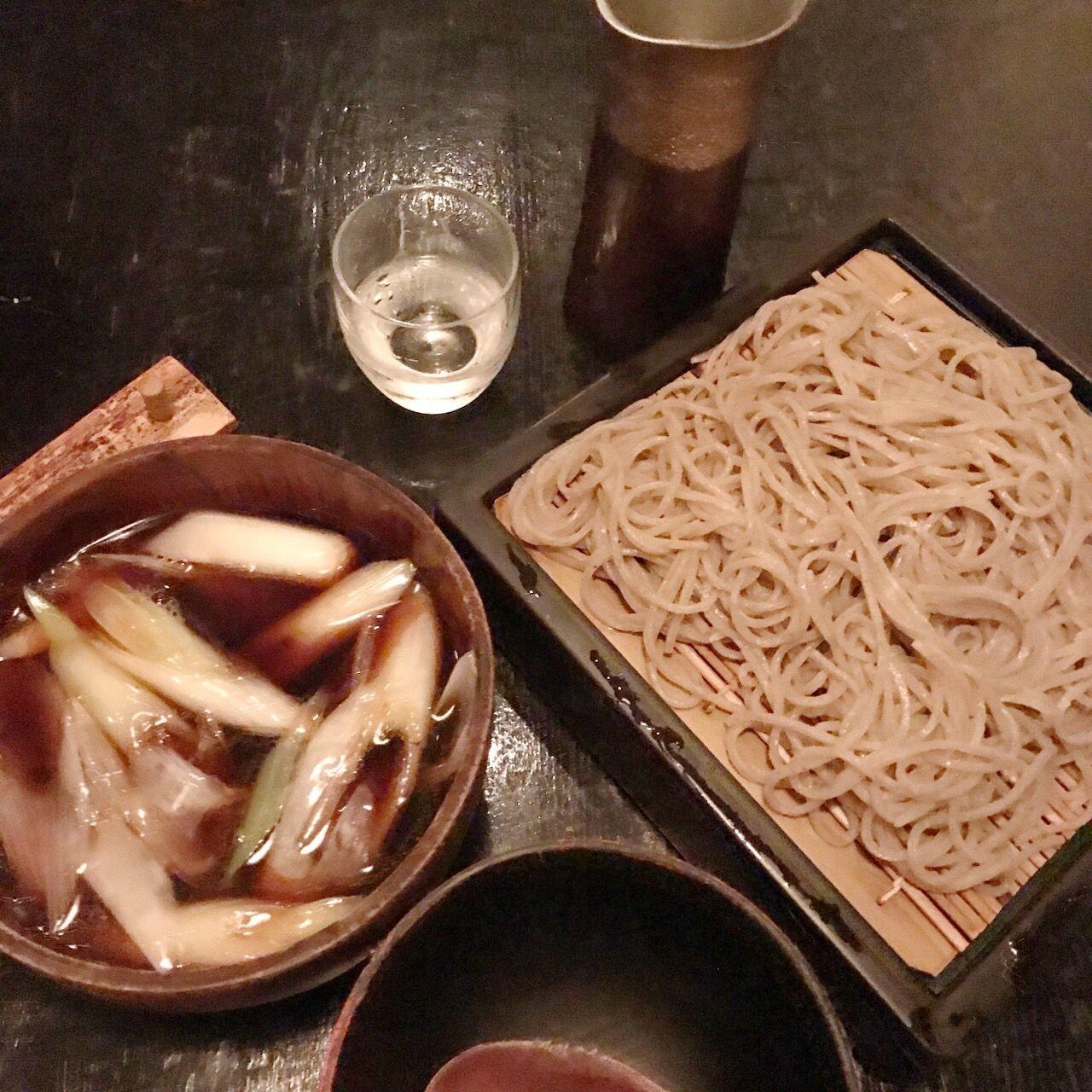 川上庵のお蕎麦