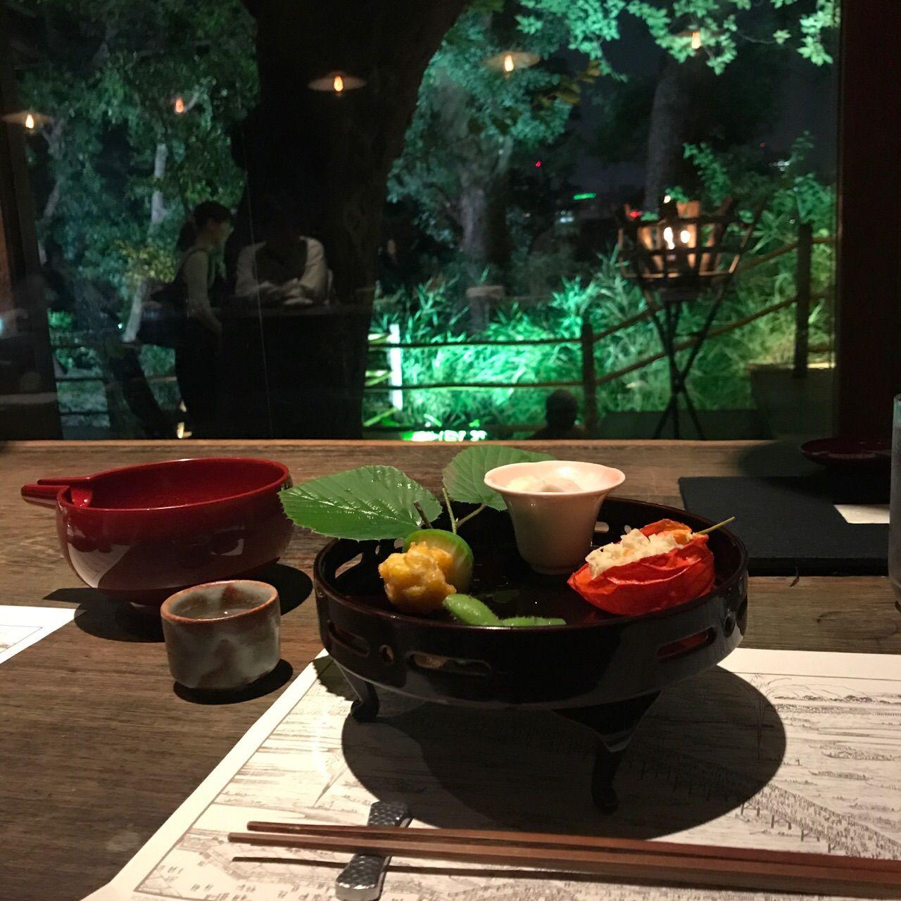 韻松亭で美味しいご飯を♡
