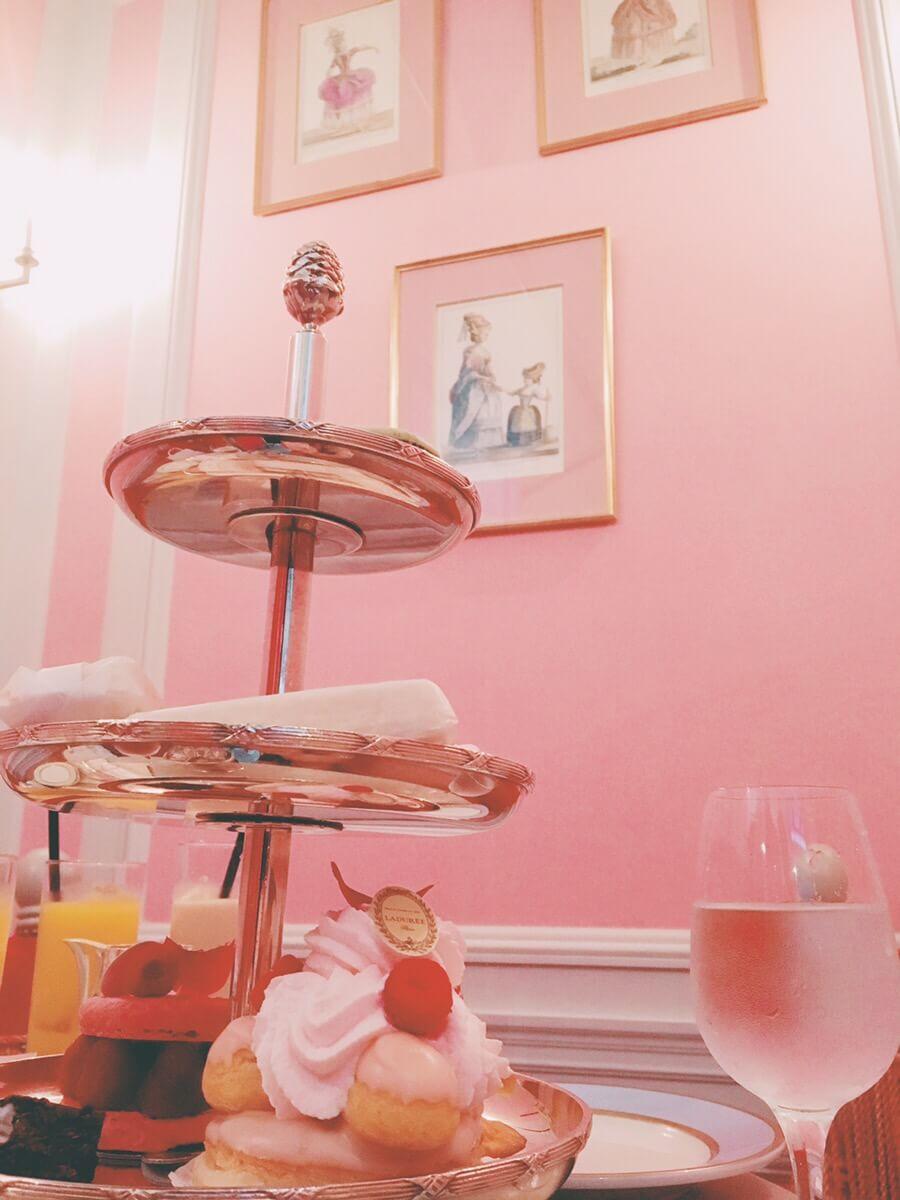 銀座のラデュレで贅沢な午後を♡