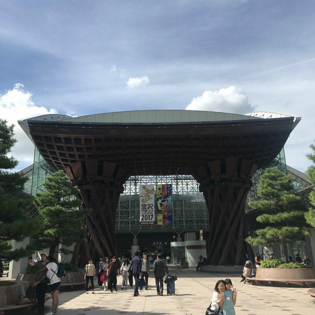 金沢観光スタート♡