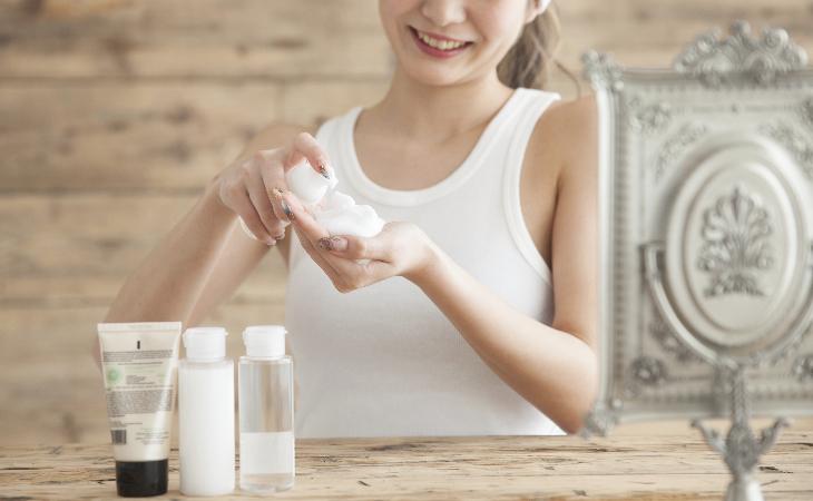 化妝水濕敷