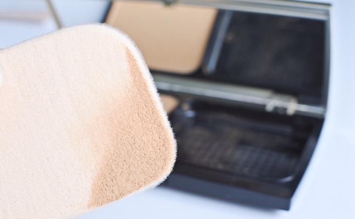 粉撲使用方法