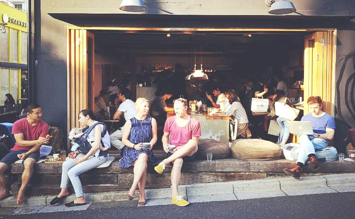 來自澳洲異業結合咖啡廳