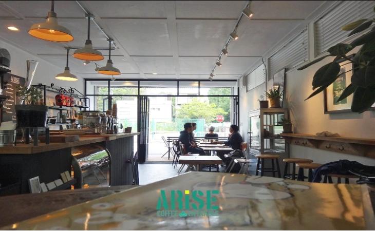 咖啡職人坐鎮:ARiSE COFFEE ENTANGLE