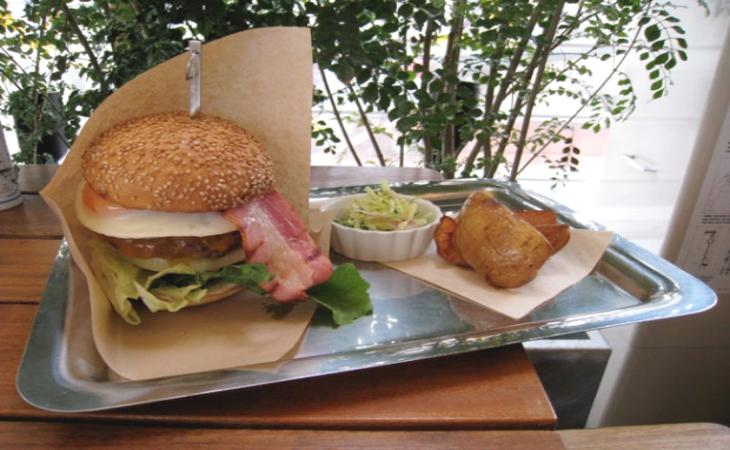 自由之丘美味和牛漢堡
