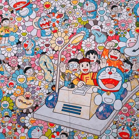 村上隆のTHE ドラえもん展 TOKYO 2017
