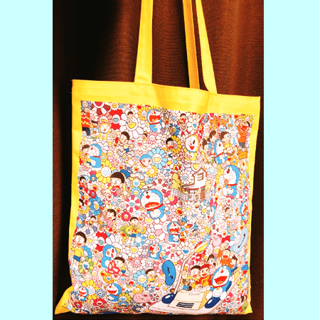 Takashi Murakami Design, Doraemon Exhibition Limited Goods, Tote Bag