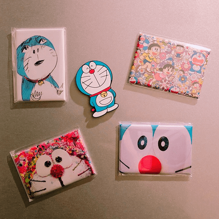 Doraemon exhibition limited goods, magnets