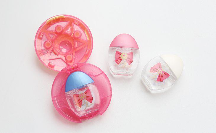 蝴蝶結圖案眼藥水包裝示意圖