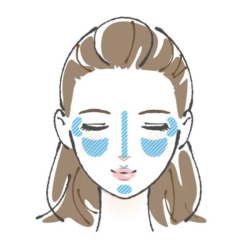 光澤飾底乳部塗法