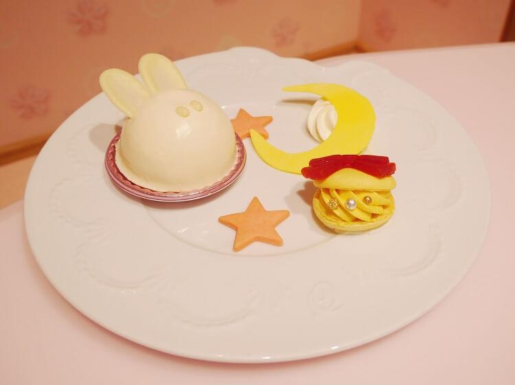 小兔的甜蜜美夢半熟起司蛋糕