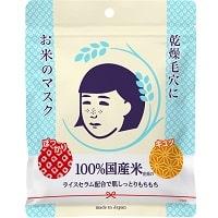 面膜推薦-石澤研究所 毛穴撫子日本米精華保濕面膜