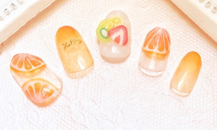 彩繪設計3 - 光療指甲