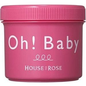 保養品推薦-HOUSE OF ROSE Oh! Baby親愛寶貝去角質美體霜