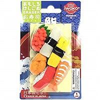 必買推薦-iwako有趣橡皮擦組壽司