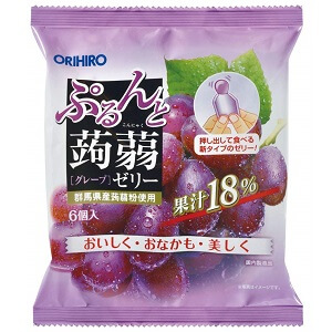 ORIHIRO袋裝蒟蒻果凍-必買推薦