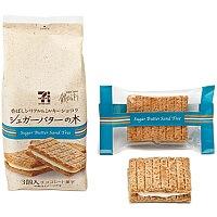 必買推薦-日本7-11砂糖奶油樹夾心餅乾