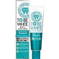 牙膏推薦-TO BE WHITE_瞬白精華清新牙膏