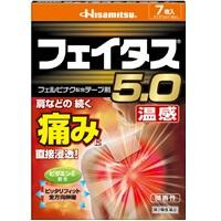 貼布推薦-Hisamitsu Feitas 5.0温感