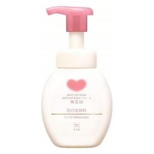 敏感肌專用洗面乳推薦-COWSTYLE牛乳石鹼無添加泡洗顏