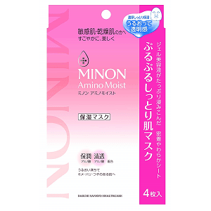 敏感肌推薦-Minon蜜濃 水潤保濕修護面膜