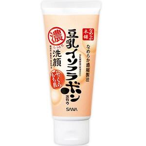 洗面乳洗卸合一推薦6 SANA莎娜豆乳超保濕
