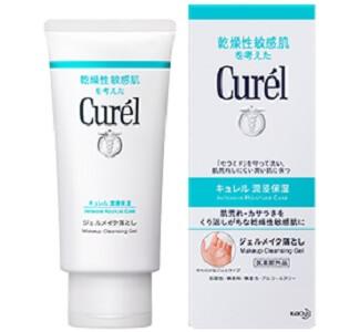 卸妝凝膠推薦2 Curél珂潤 潤浸保濕深層卸粧凝露