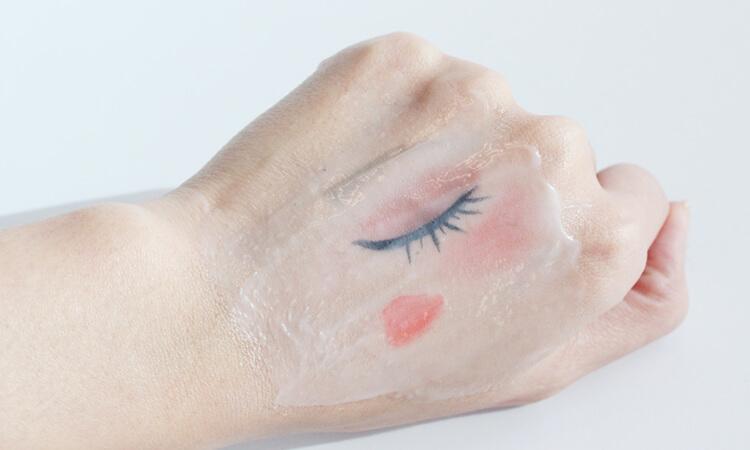 溫感去角質卸妝凝膠和彩妝融合中2