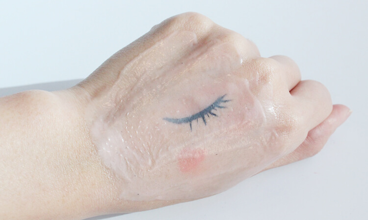 溫感去角質卸妝凝膠和彩妝融合中3
