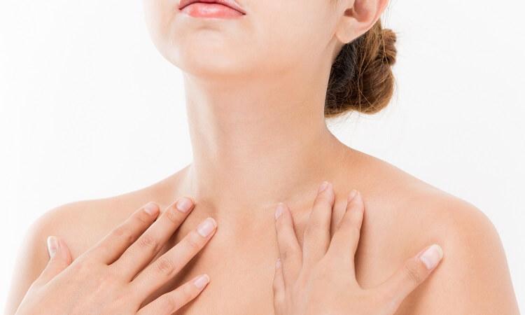 利用肌純保養頸部的使用方法解說