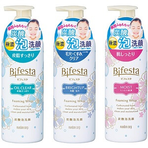 洗面乳入門推薦-Bifesta碧菲絲特 碳酸泡洗顏